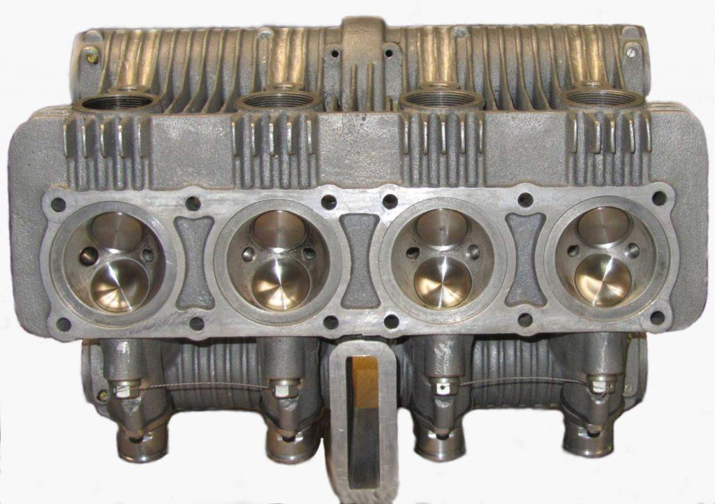 Zweiventil-Kopf, Brennraum mit eingebauten Ventilen